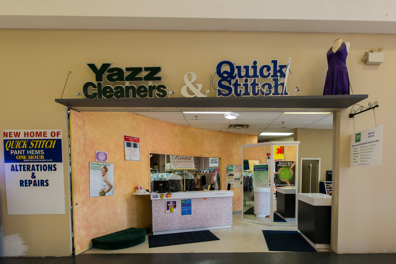 Yazz Cleaners/Quick Stitch