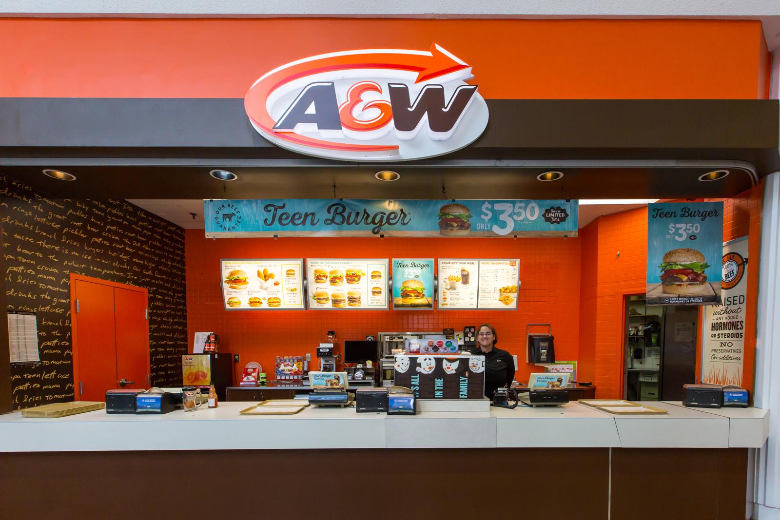A&W Food Court