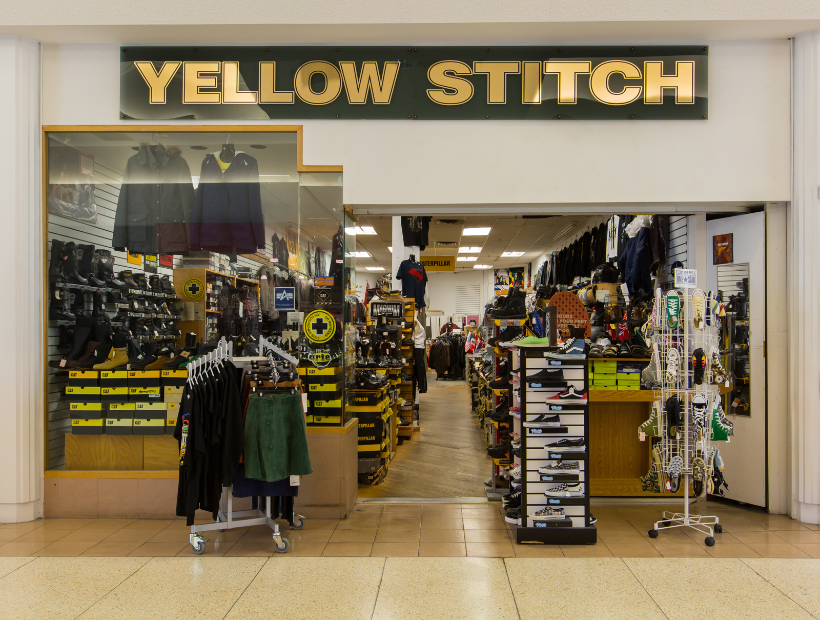 Yellow Stitch